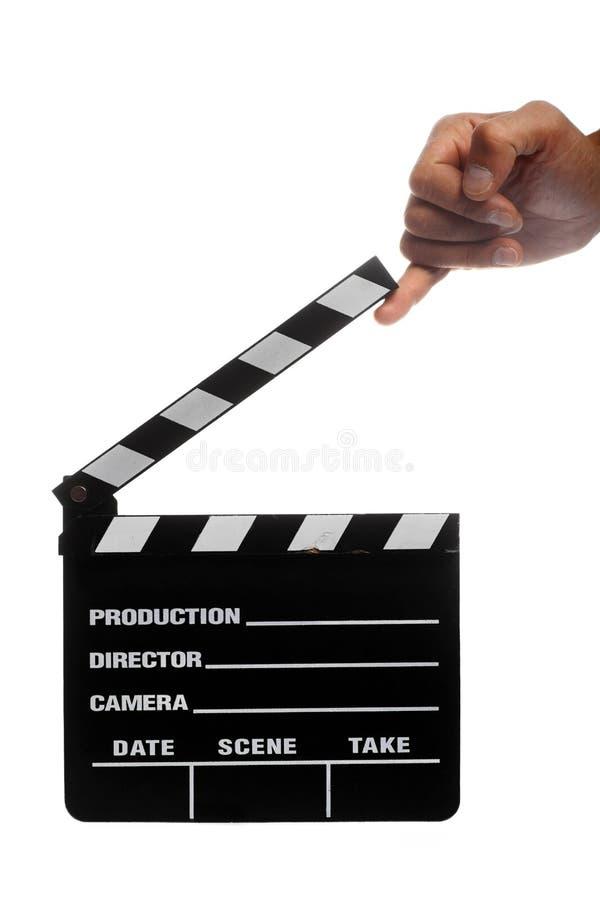 Cinema clap stock images