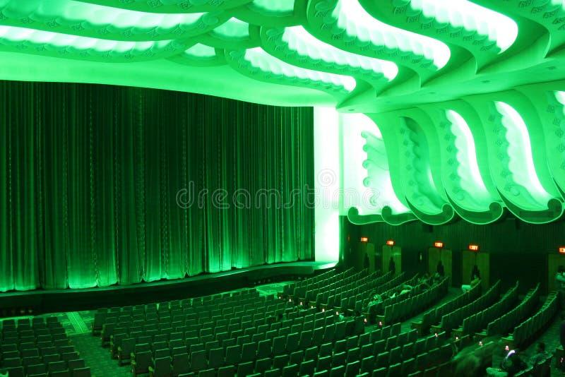 Cinema de Raj Mandir (Jaipur, India) fotos de stock royalty free