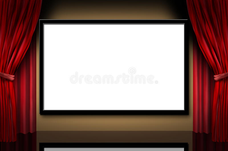 Download Cinema Display Stage Movies Opening Night Theater Stock Illustration - Image: 16584160