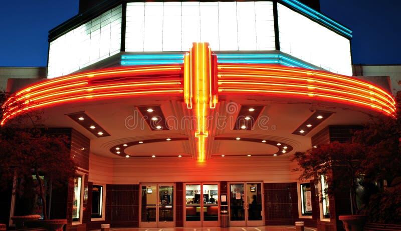 Cinema do vintage foto de stock