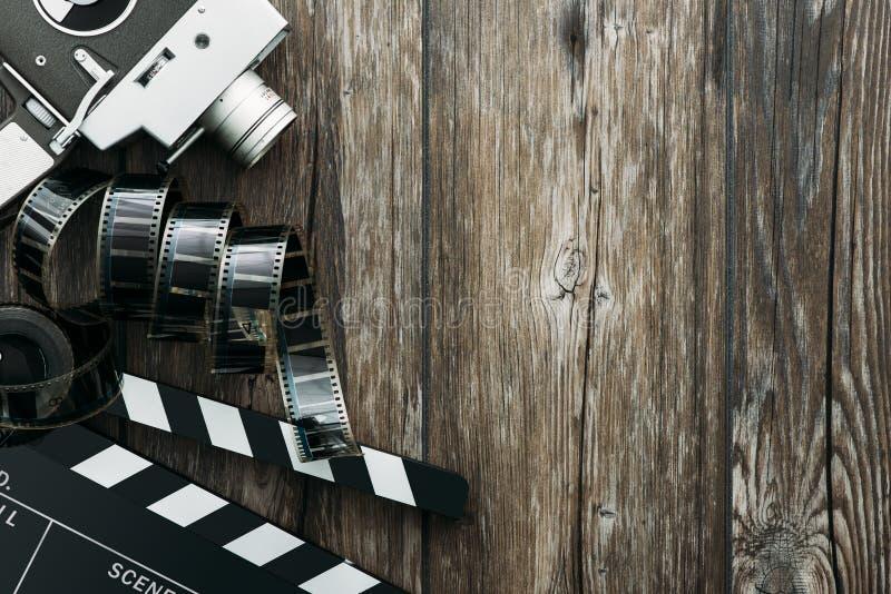 Cinema e realização imagem de stock