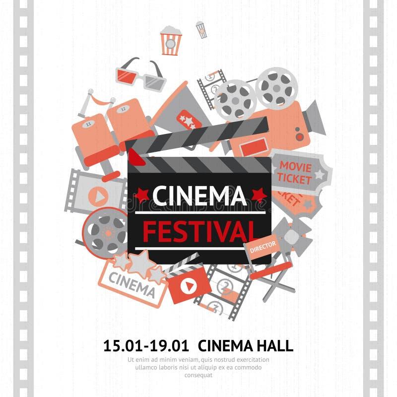 Cinema Festival Poster vector illustration