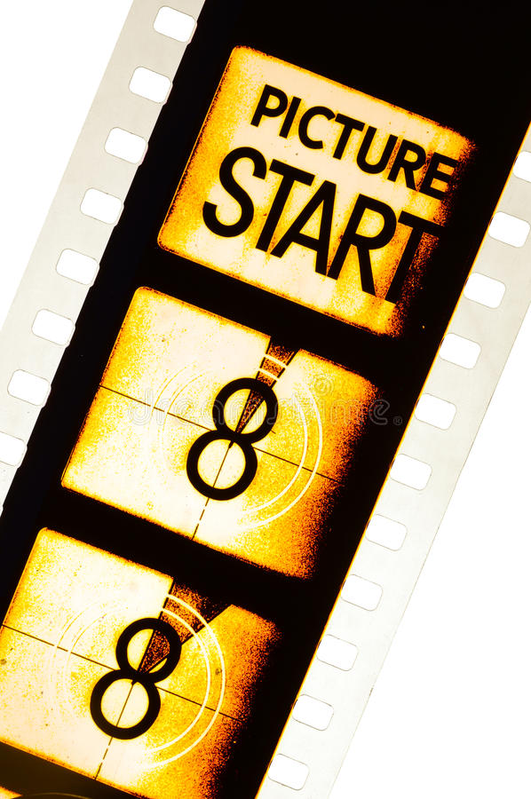 Film Countdown: Film Countdown 3 2 1 Stock Image. Image Of Count