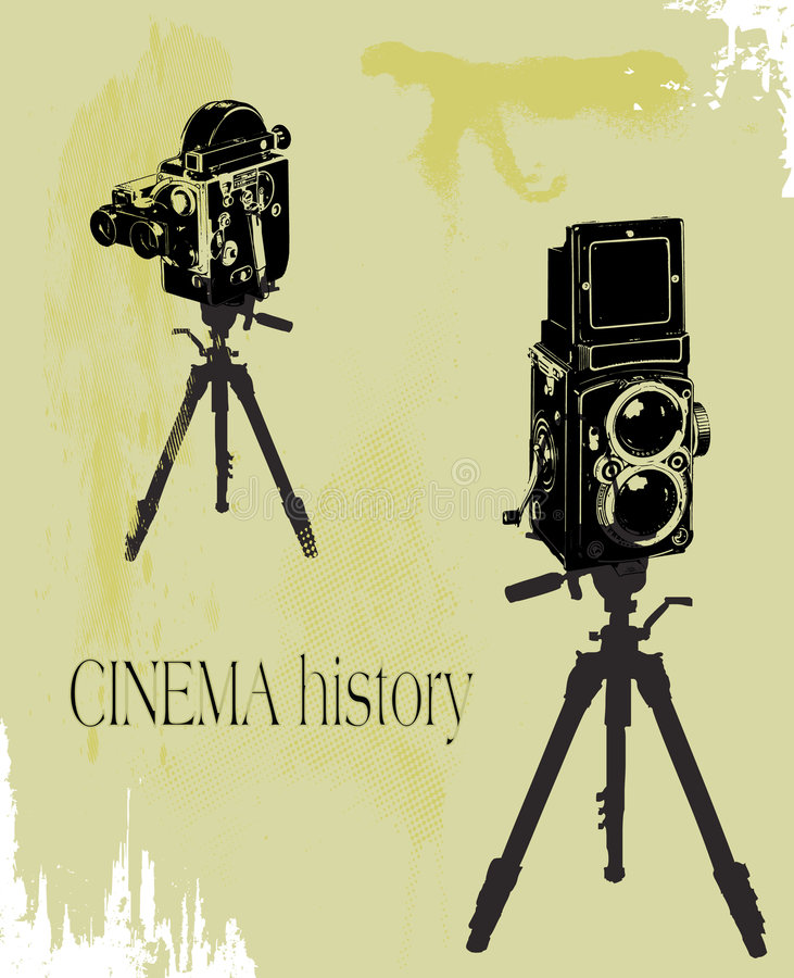 Cinema History Stock Images