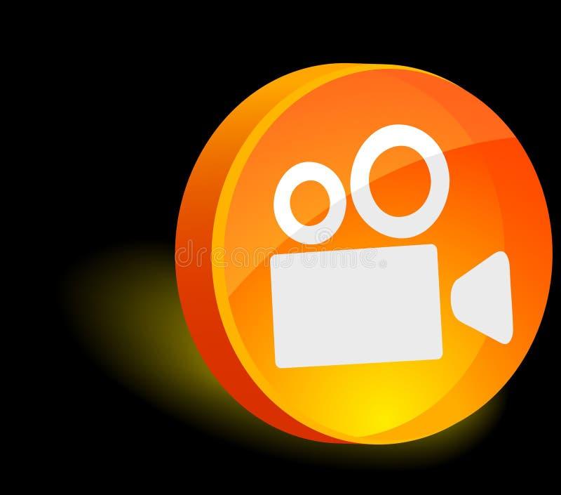 Download Cinema Icon. Royalty Free Stock Image - Image: 10413716