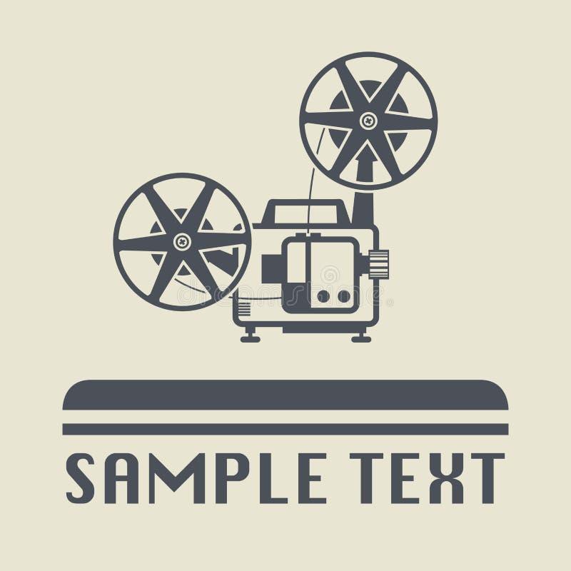 Cinema icon or sign. Vector illustration vector illustration