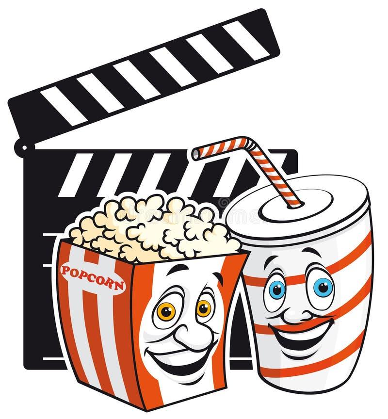 Cinema Mascots Stock Image