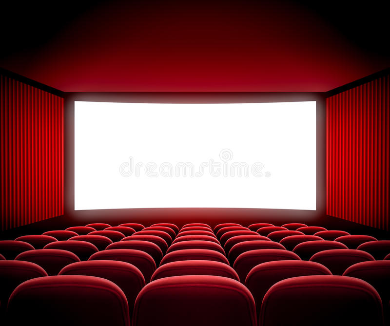 Cinema Movie Screen Stock Photo Image 39826577