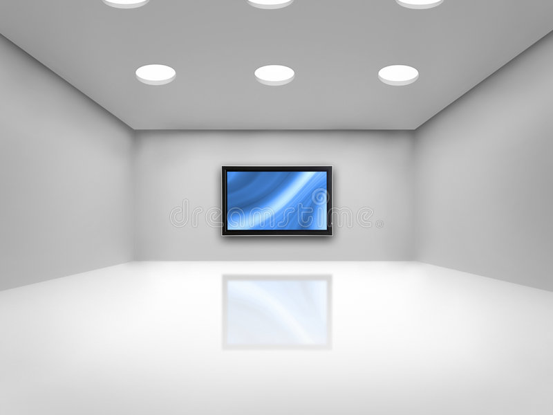 Download Cinema room stock image. Image of space, modern, blank - 3738033