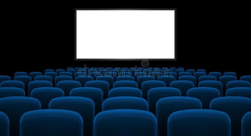 Cinema Salão ilustração royalty free