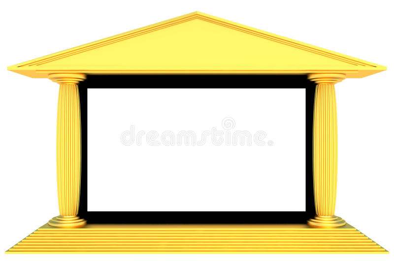 Download Cinema screen stock illustration. Illustration of film - 27335534