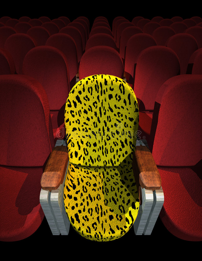 Download Cinema Seat stock photo. Image of indoor, nobody, festival - 713146