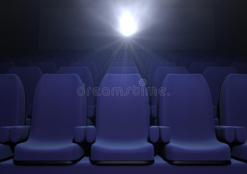 Download Cinema seats stock illustration. Image of oscar, elegant - 18152749