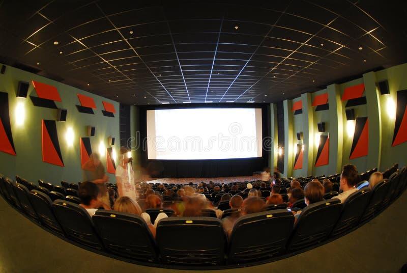 Cinema seats royalty free stock image