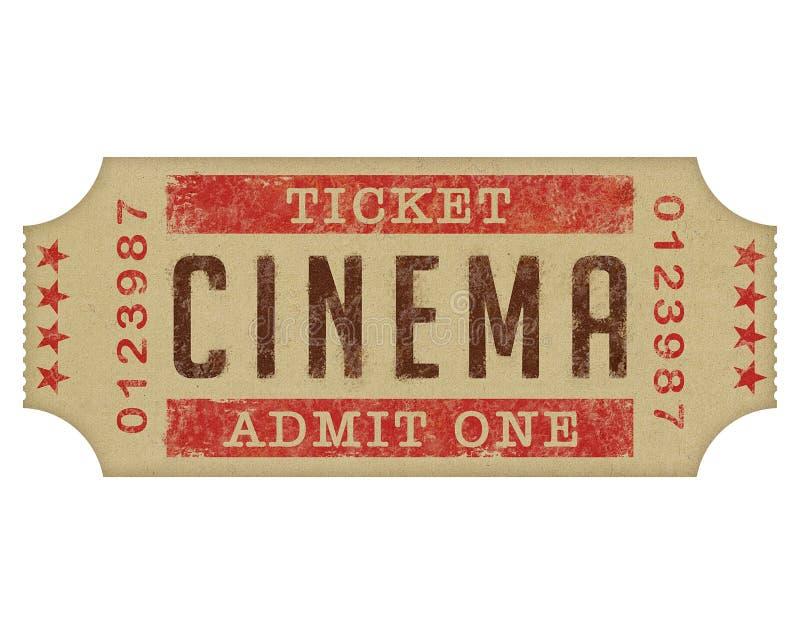 Download Cinema Ticket stock photo. Image of admit, label, cine - 27355680
