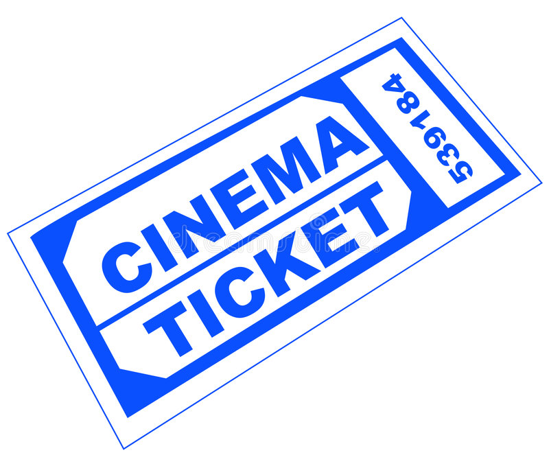 Download Cinema Ticket Royalty Free Stock Image - Image: 6743516