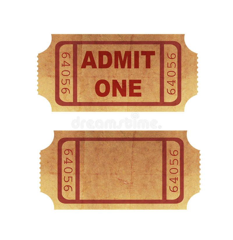 Download Cinema tickets stock illustration. Image of communication - 19759955