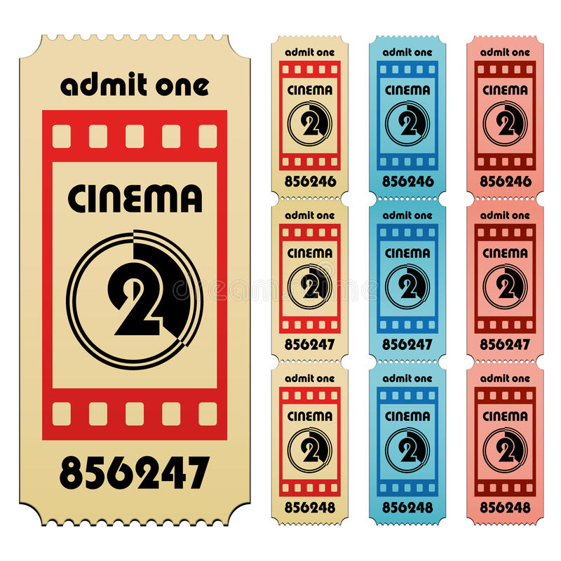 Download Cinema Tickets Stock Photography - Image: 24115702