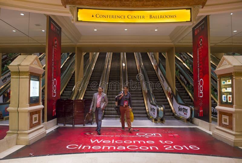 CinemaCon 2016 zdjęcie royalty free