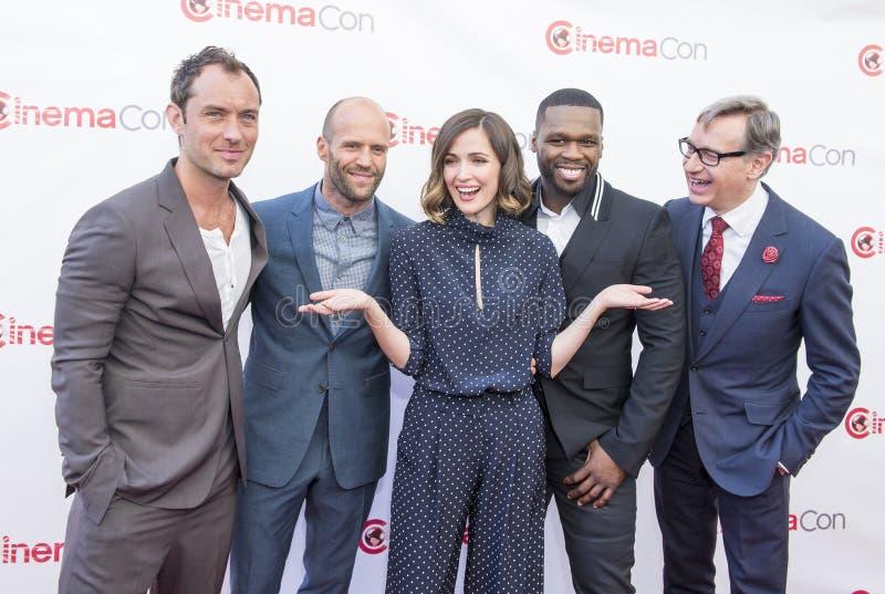 CinemaCon 2015 - de Presentatie van de de 20ste eeuwvos royalty-vrije stock foto