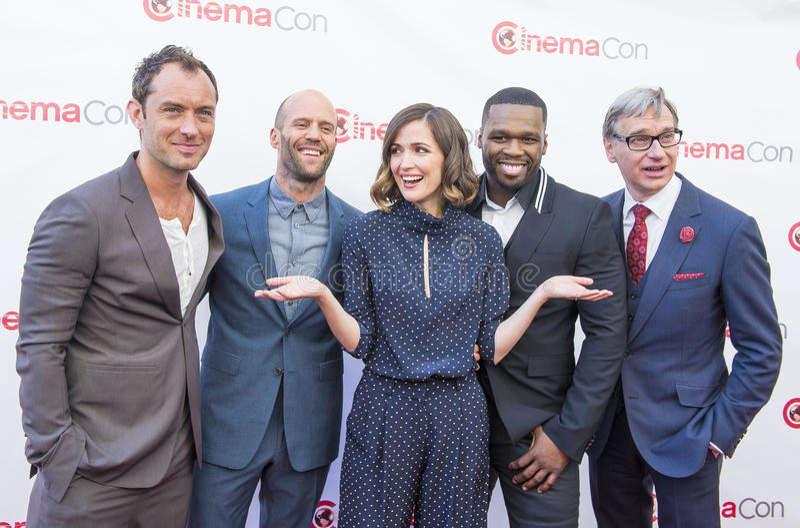 CinemaCon 2015 - de Presentatie van de de 20ste eeuwvos stock afbeeldingen
