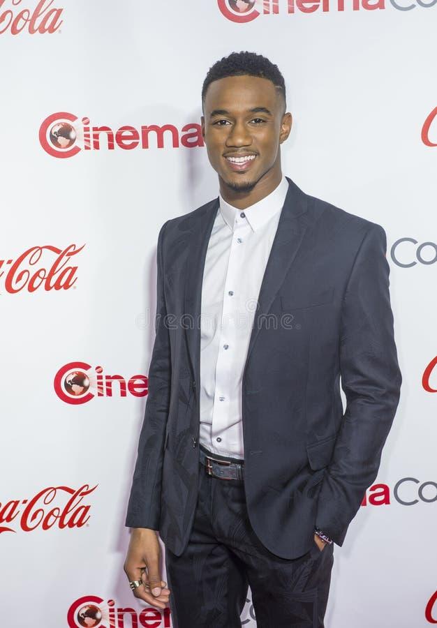 CinemaCon 2016 - les grands prix à la réussite d'écran image stock