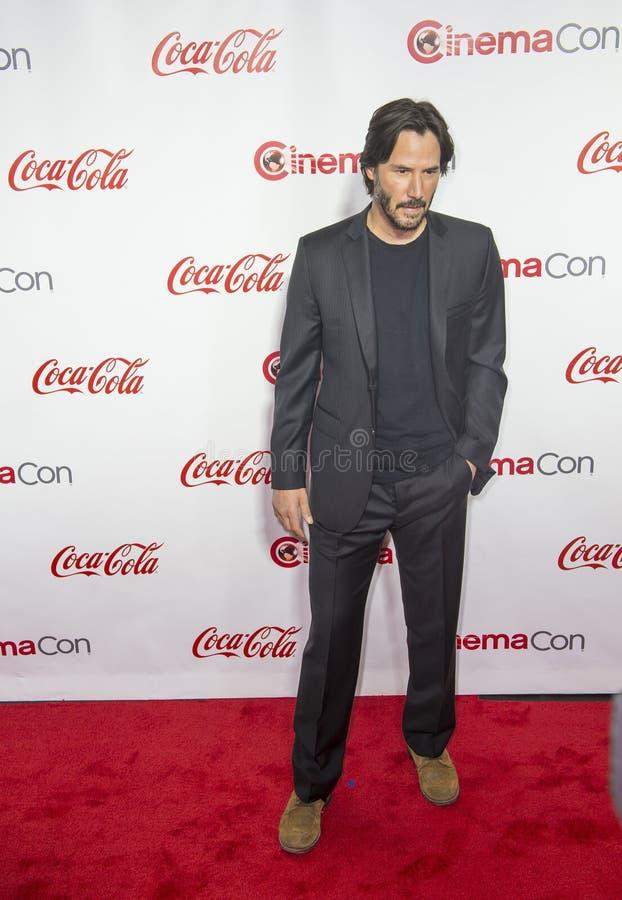 CinemaCon 2016 - les grands prix à la réussite d'écran photo libre de droits