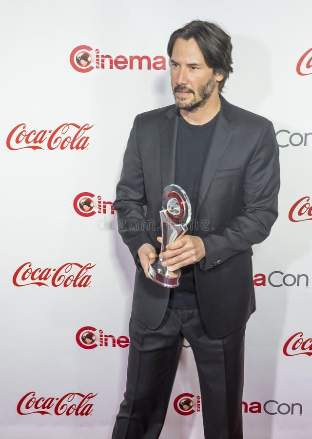 CinemaCon 2016 - les grands prix à la réussite d'écran photographie stock