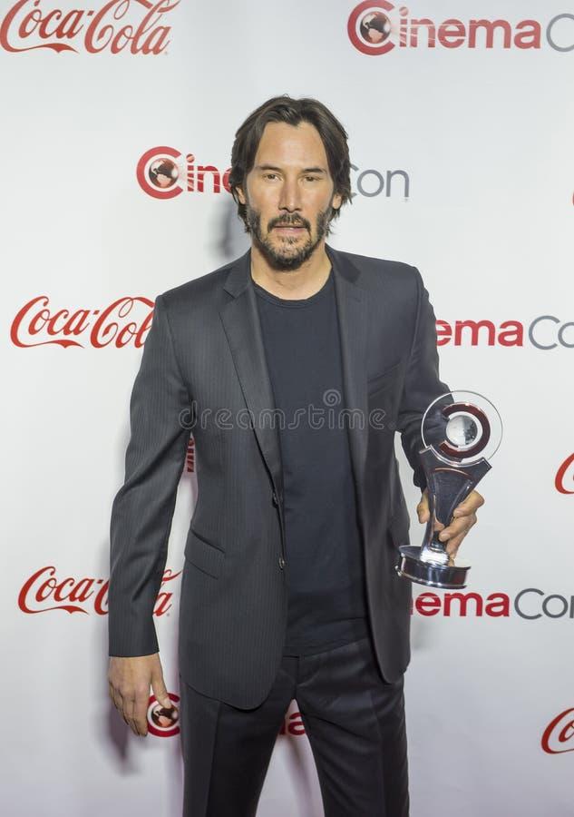 CinemaCon 2016 - les grands prix à la réussite d'écran images libres de droits