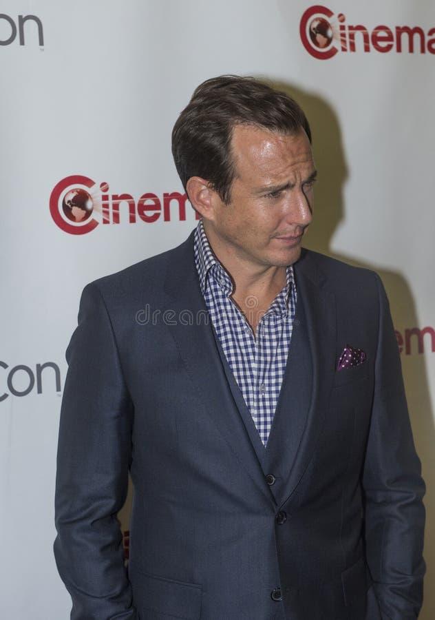 CinemaCon 2014 - Openings de Nachtpresentatie van Paramount stock foto's