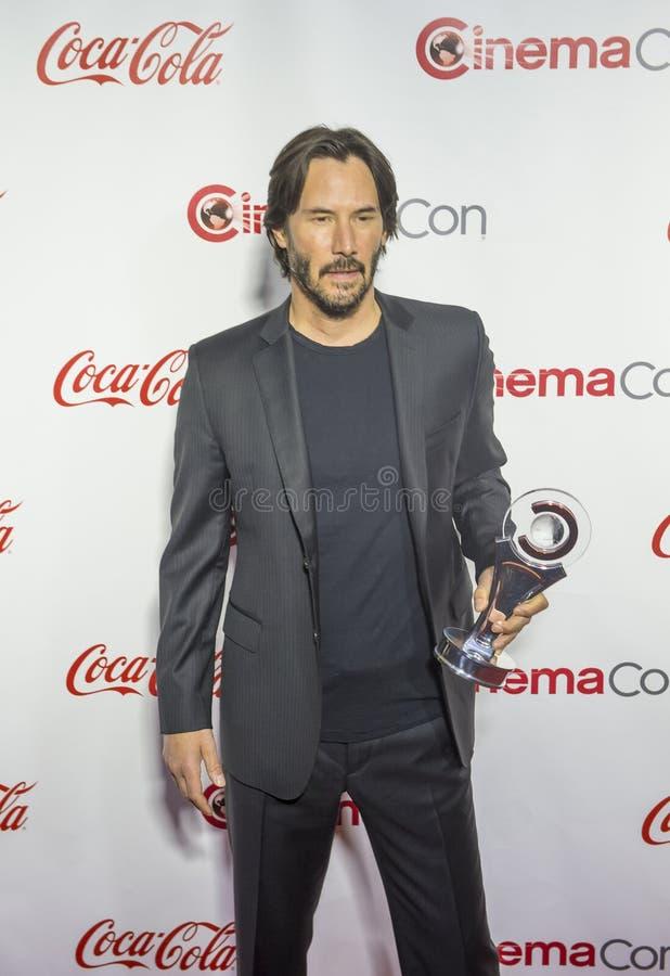 CinemaCon 2016 - os prêmios de mérito grandes da tela fotos de stock