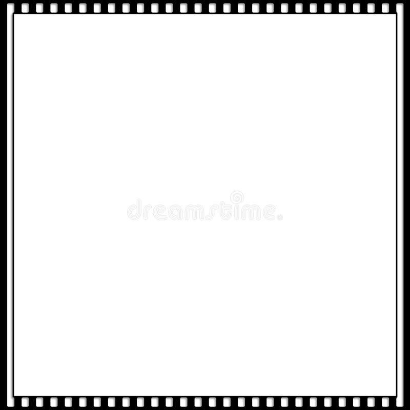 Cinematic 35mm het Kader van de Fotofilm vector illustratie