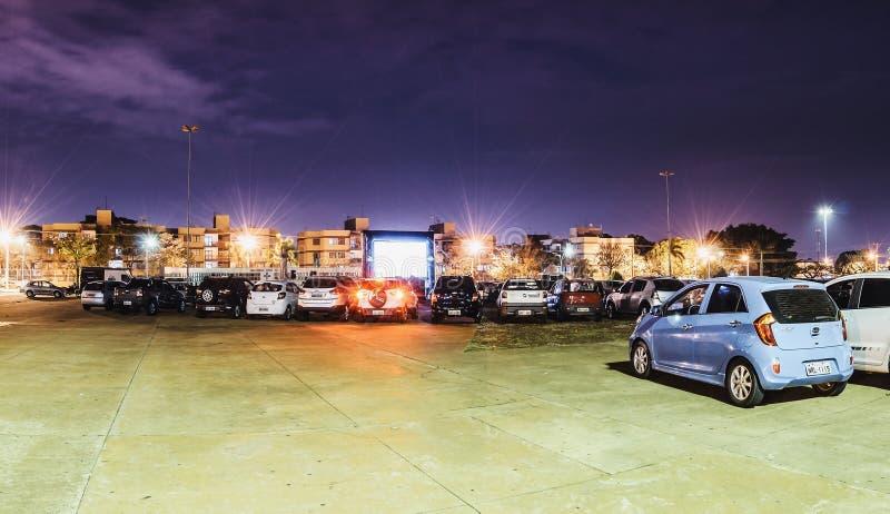 Cinematografia Autorama in campo grande - il ms a Praca fa il papà fotografia stock