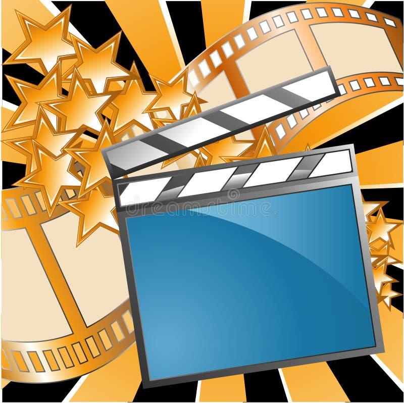 Cinematografo illustrazione vettoriale