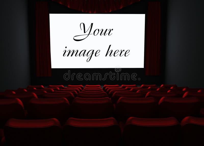 Cinematografo illustrazione di stock