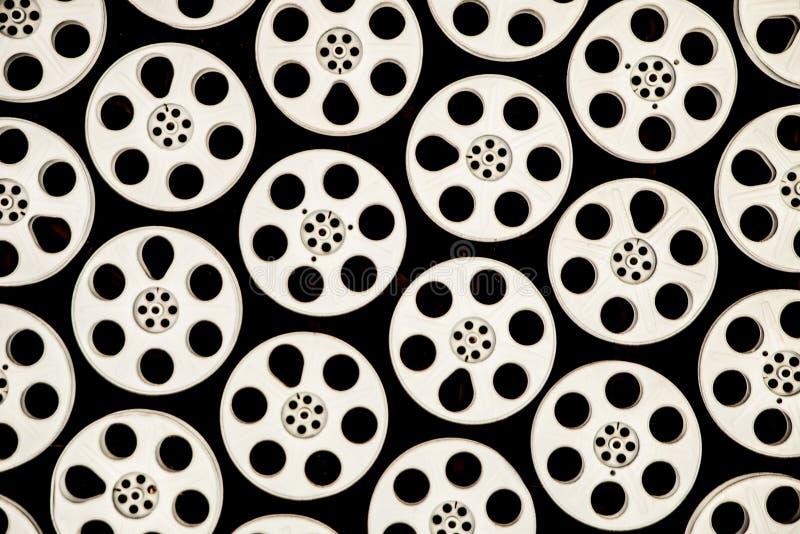 cinematographic rulle för begreppsfilmindustri arkivbilder
