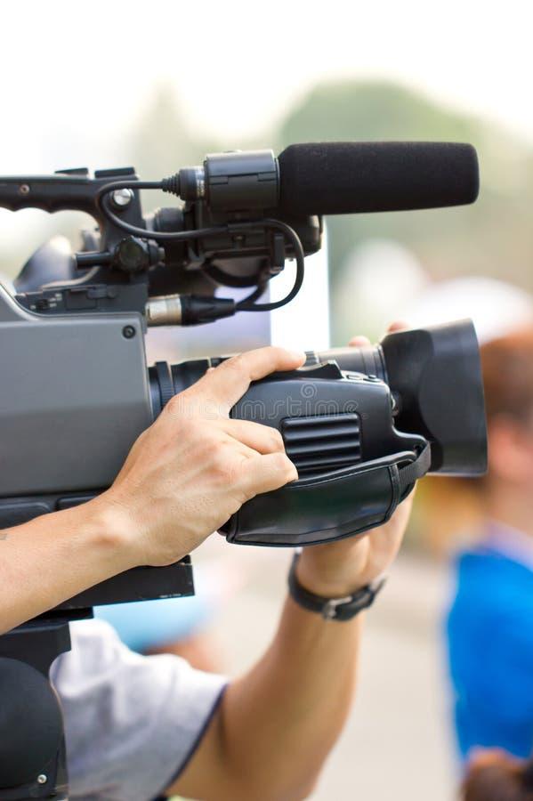 Cineoperatore. fotografia stock libera da diritti