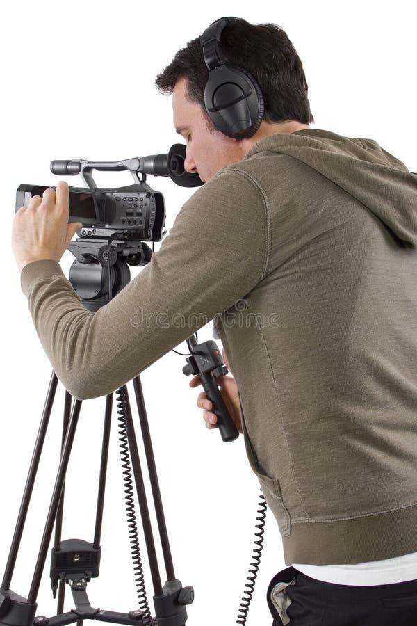 Cineoperatore fotografie stock libere da diritti