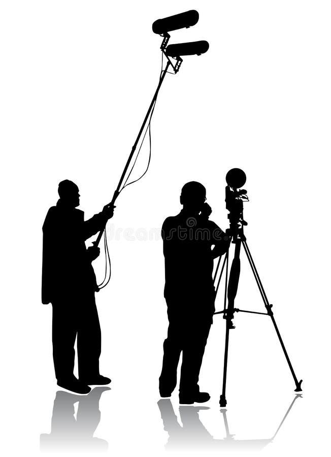 Cineoperatore illustrazione vettoriale