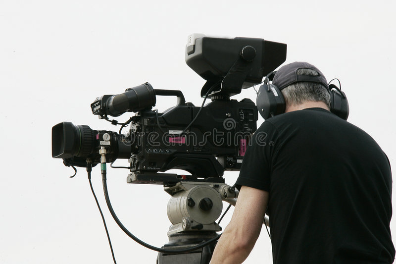 Cineoperatore immagini stock
