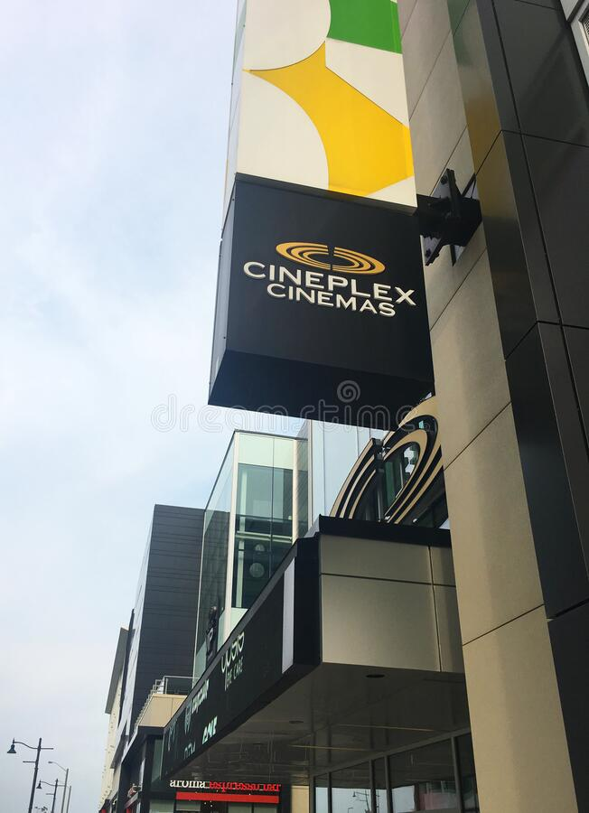 Cineplex stock photo