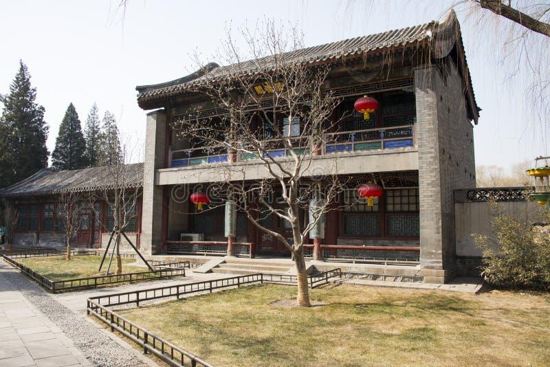 Cinese asiatico, Pechino, l'architettura di ŒGarden del ¼ di Palaceï di estate fotografia stock libera da diritti