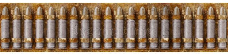 Cinghia della pallottola illustrazione vettoriale