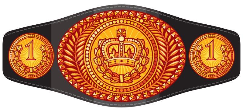 Cinghia di campione royalty illustrazione gratis