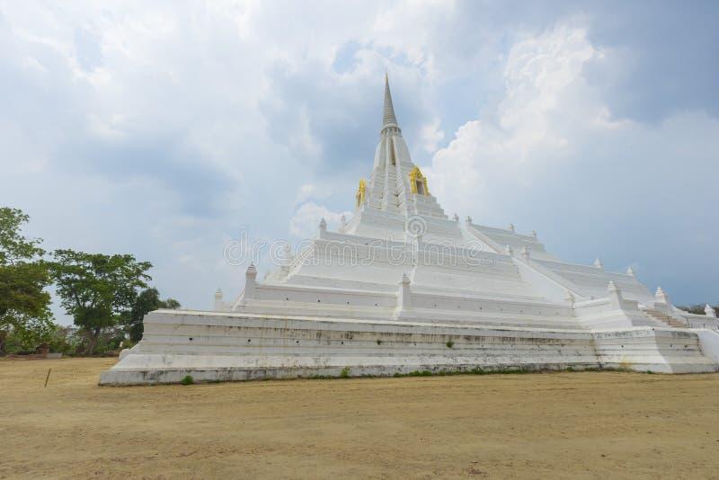 Cinghia di Phukhao a Ayutthaya, Tailandia fotografie stock
