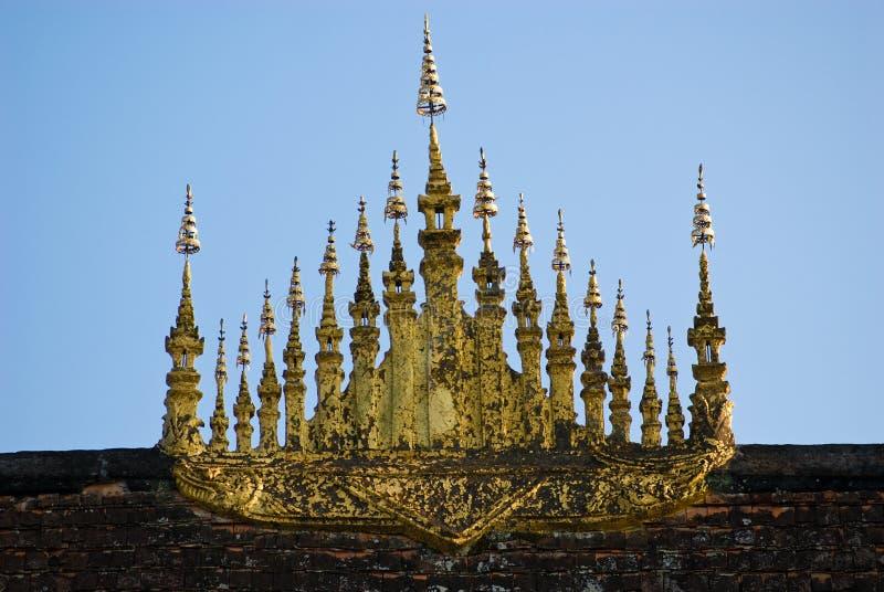 Cinghia di Wat Xieng, Luang Prabang, Laos. fotografia stock libera da diritti