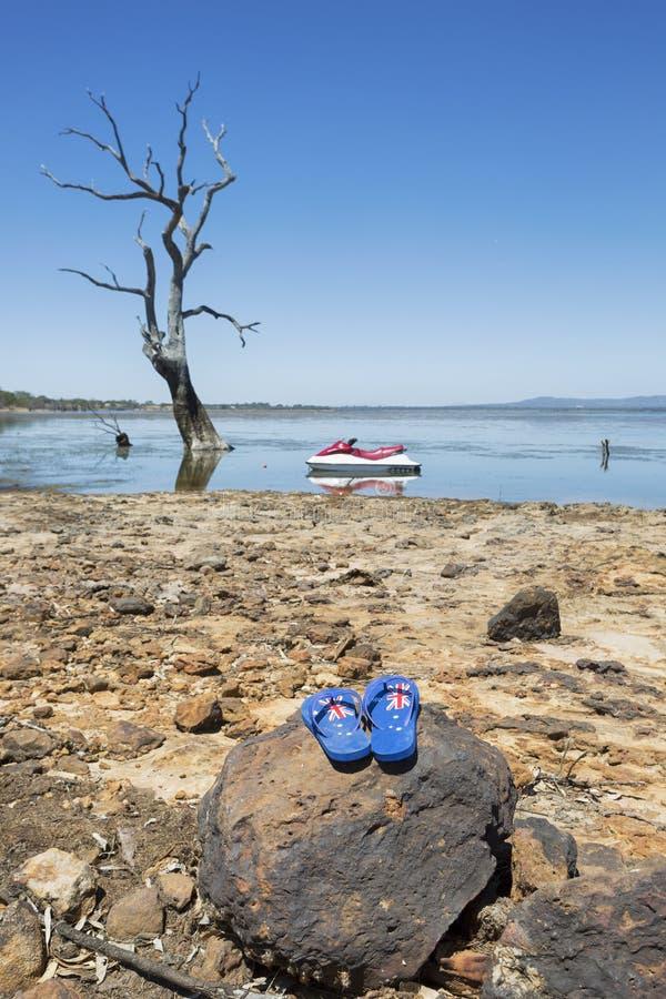 Cinghie di giorno dell'Australia fotografie stock
