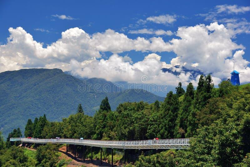Cingjing lantgård, Taiwan royaltyfria bilder