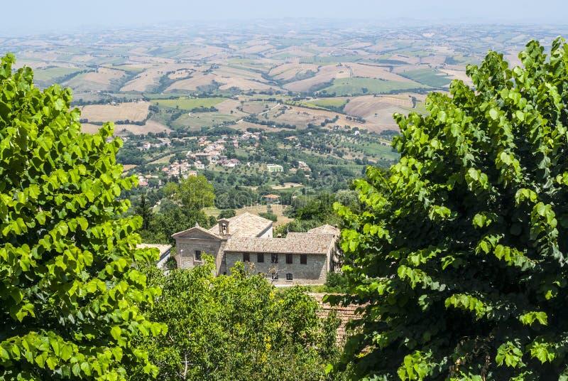 Download Cingoli (Macerata) - Panorama Stock Photo - Image: 28899510