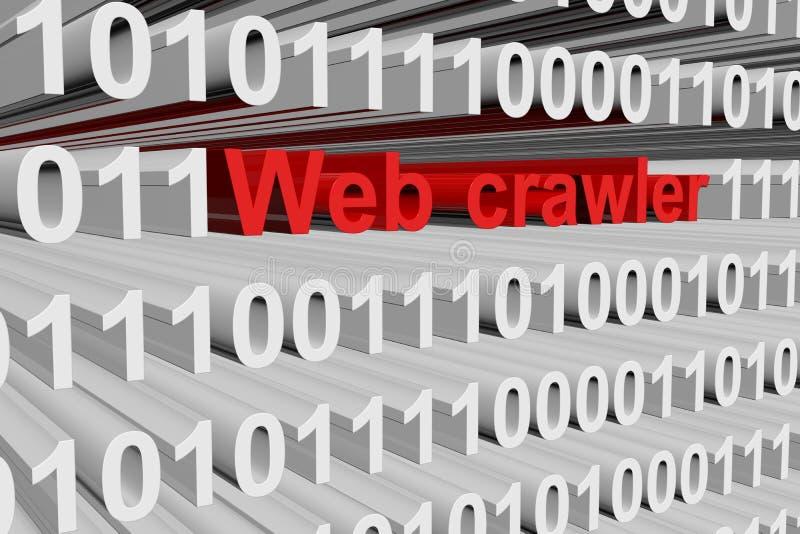 Cingolo di web illustrazione vettoriale